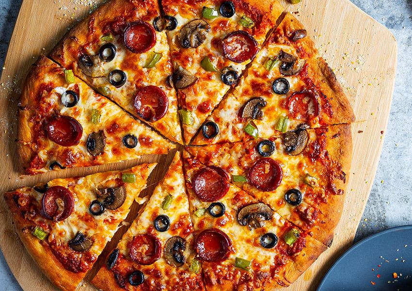 Beer-Crust Pizza
