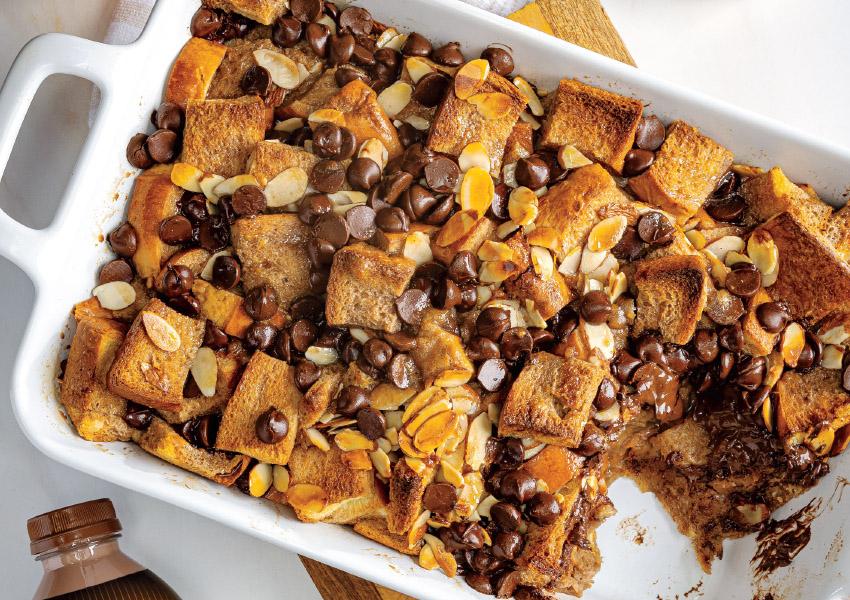 Chocolate-Orange Bread Pudding