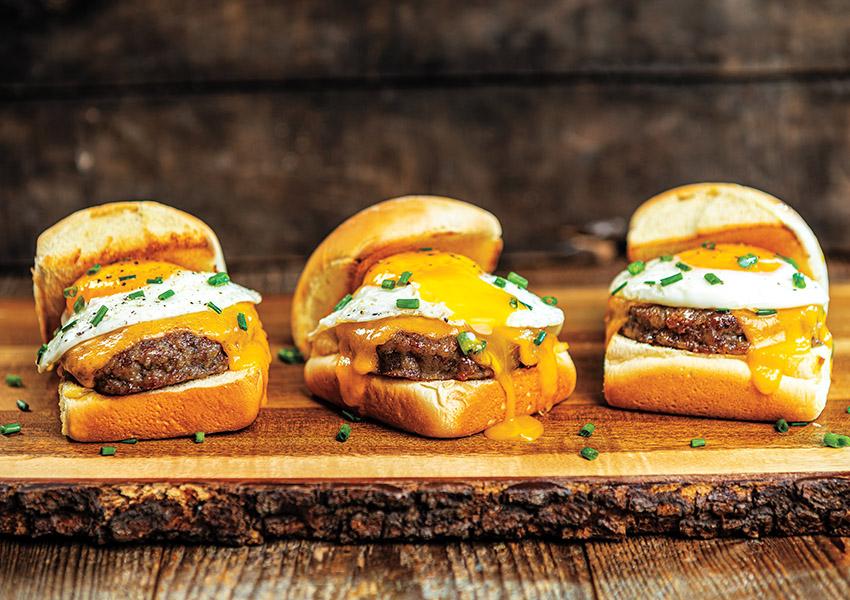 Sausage, Egg & Cheese Breakfast Sliders
