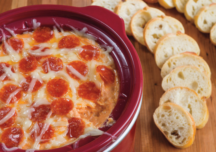 Slow Cooker Pizza Dip